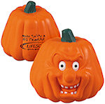 Pumpkin Maniacal Stress Balls